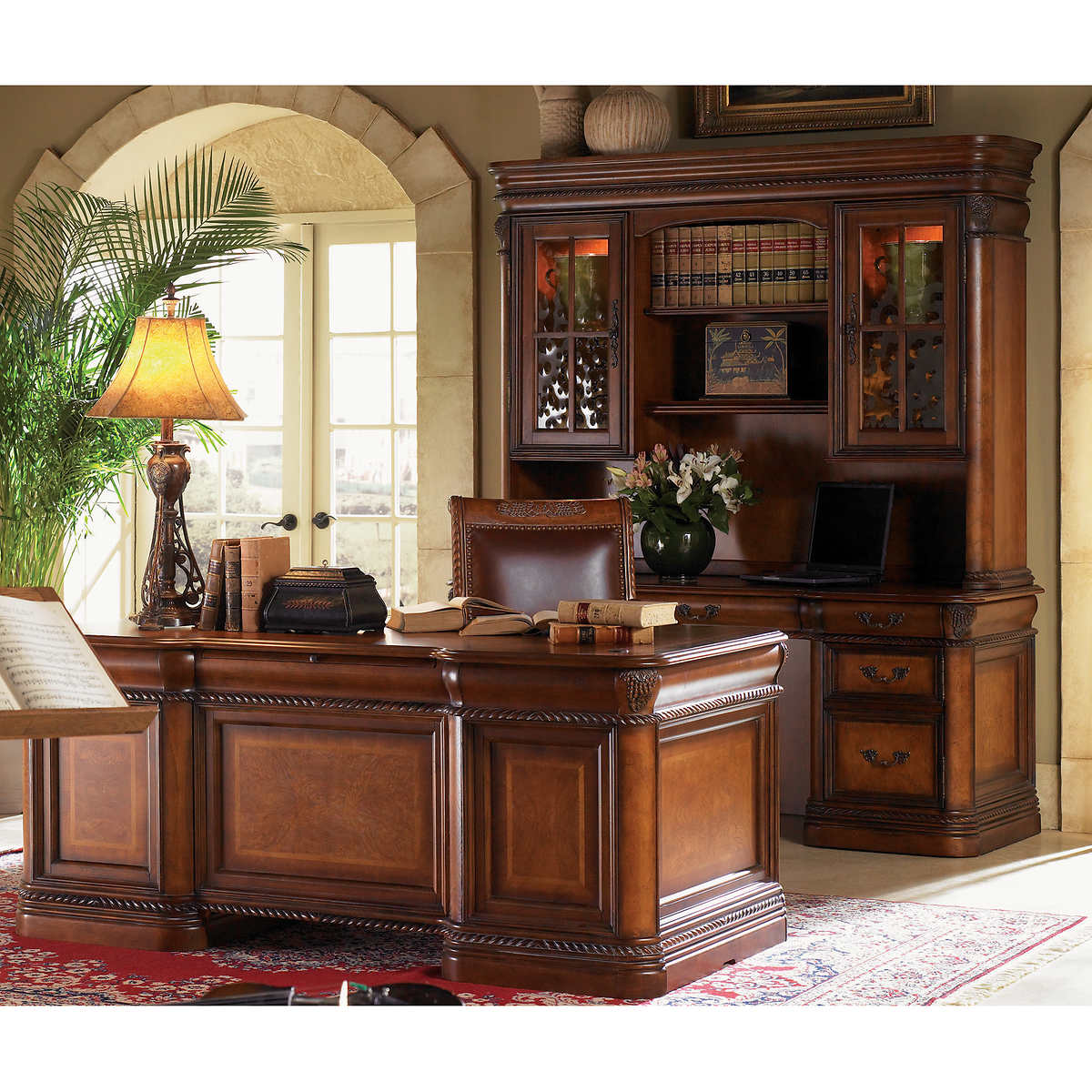Executive office suite furniture - Vineyard Executive Office Suite Item 263112 Click To Zoom