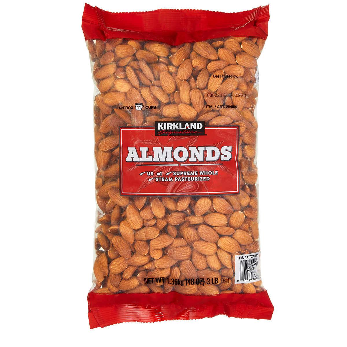 4a74b60b3bb Kirkland Signature Supreme Whole Almonds