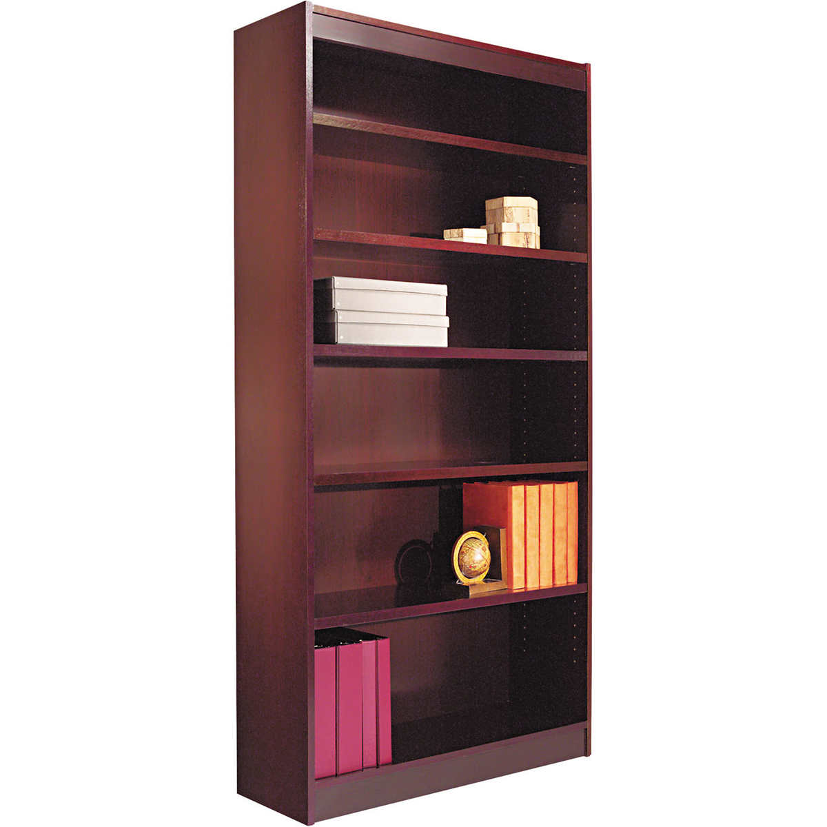 whalen at golden costco doors villa furniture oak with by overland bookcases bookcase