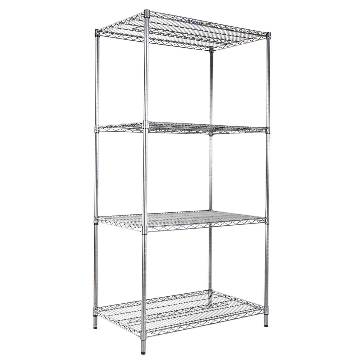 Alera 4-Shelf Wire Rack 36
