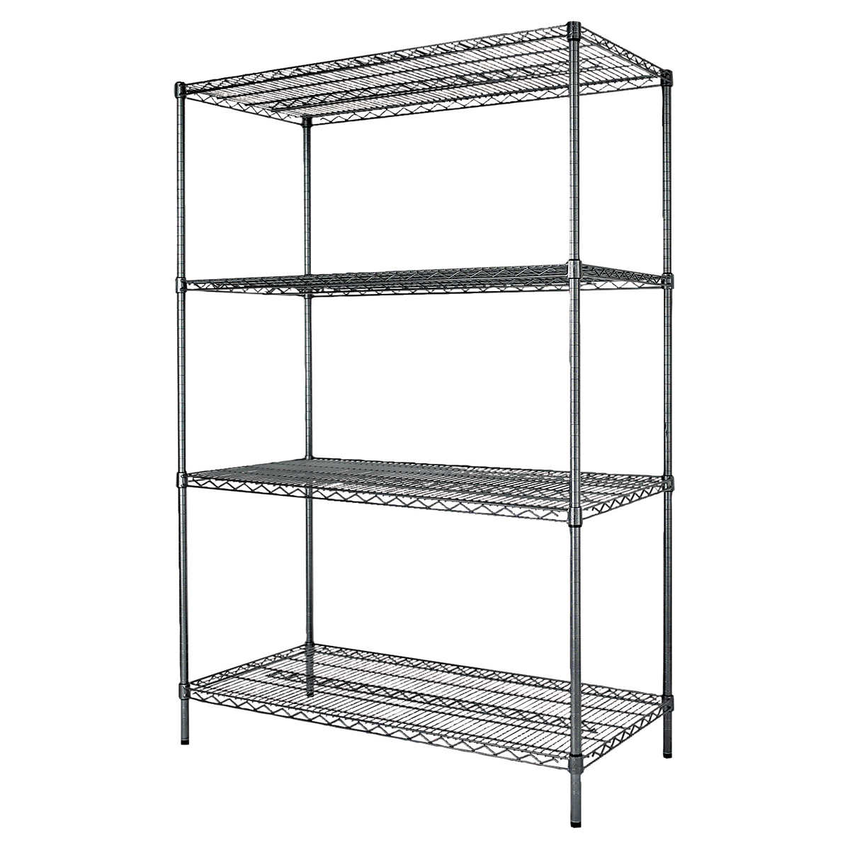 Alera 4-Shelf Wire Rack 48