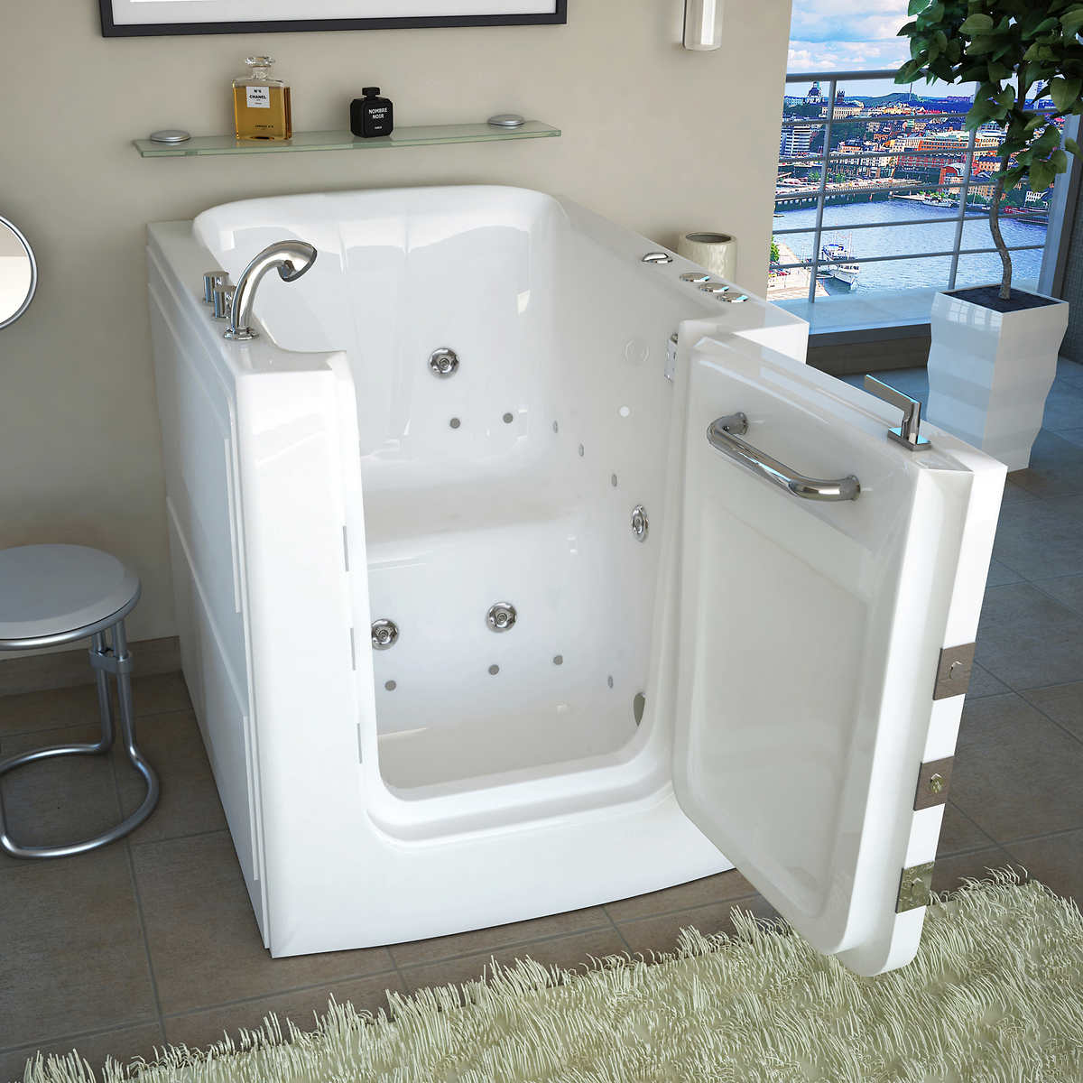 Access Tubs Walk in Air Hydro Jetted Massage Tub. Tubs