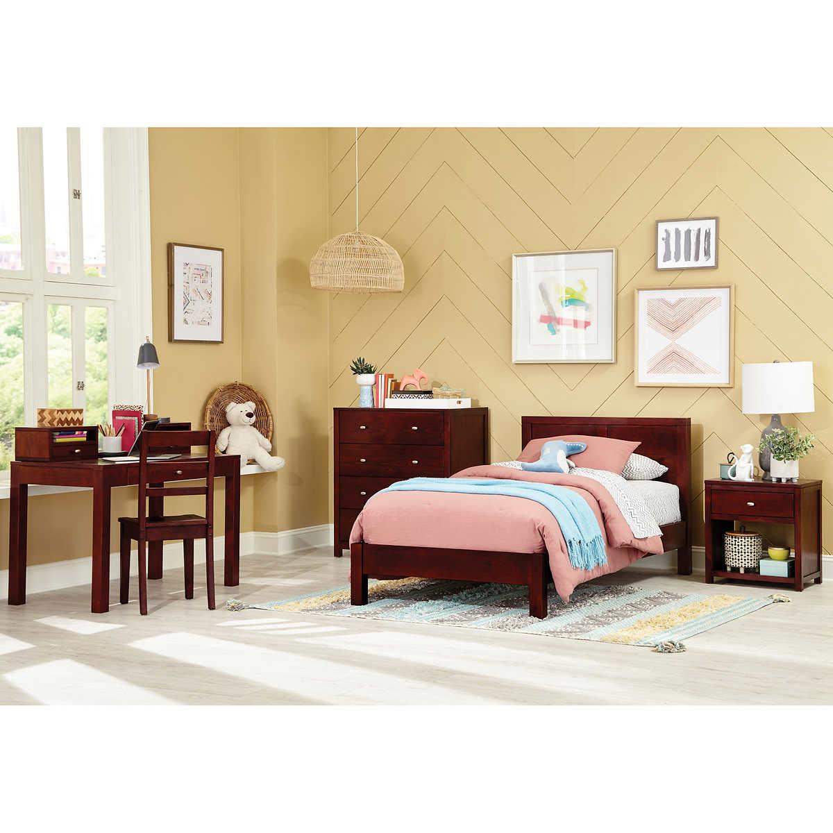 Modeno 4 Piece Twin Bed Set