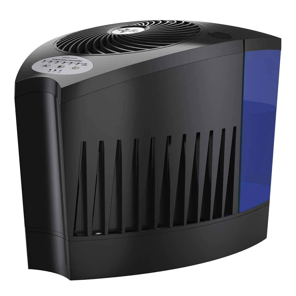 Vornado Whole Room Evaporative Humidifier with 4 Extra Humidifer Wicks Combo. Humidifiers   Costco