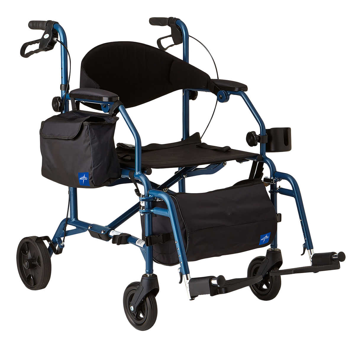 UltraLight Freedom II Transport Wheelchair by Medline