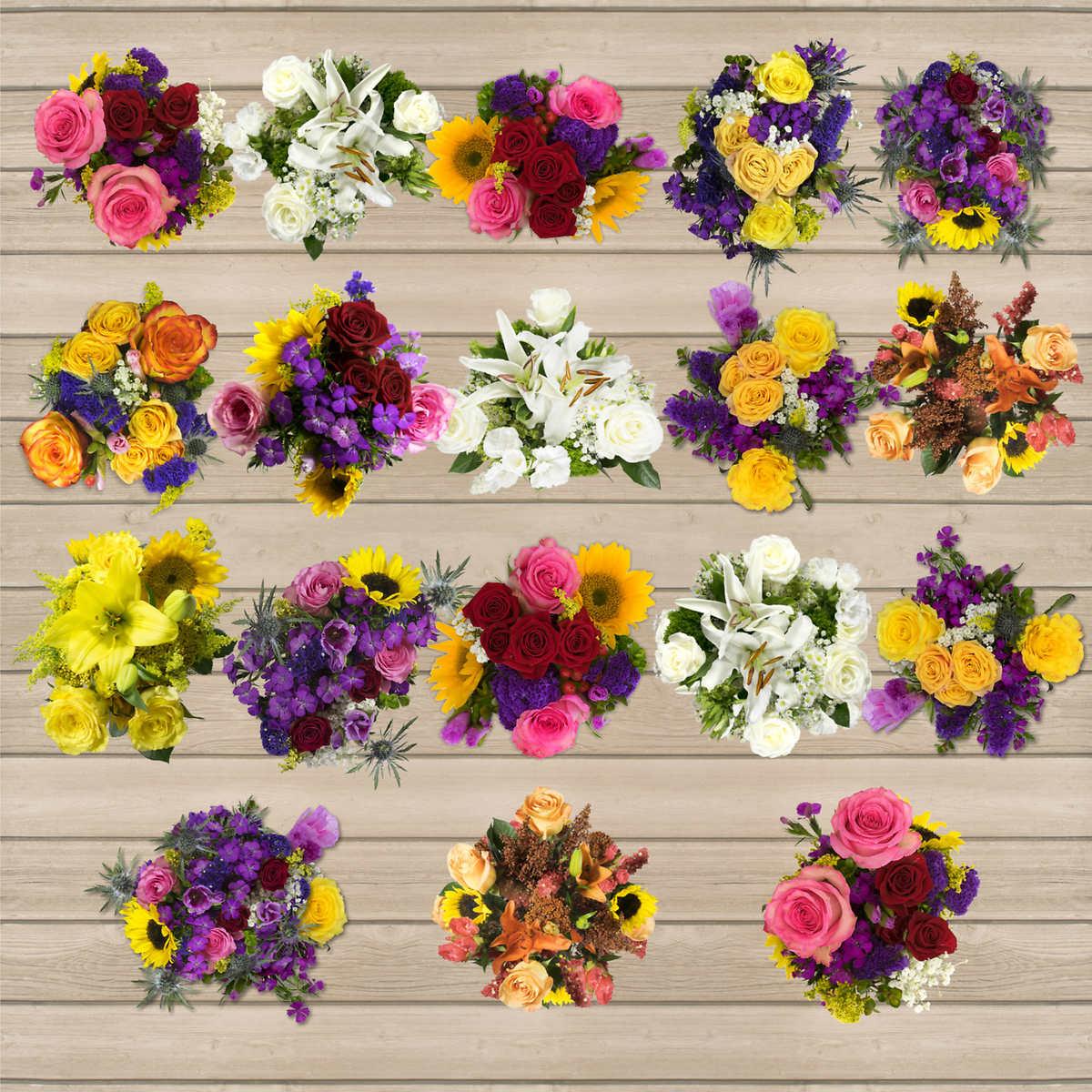 Wedding event flowers costco 18 european mini bouquets growers choice dhlflorist Choice Image
