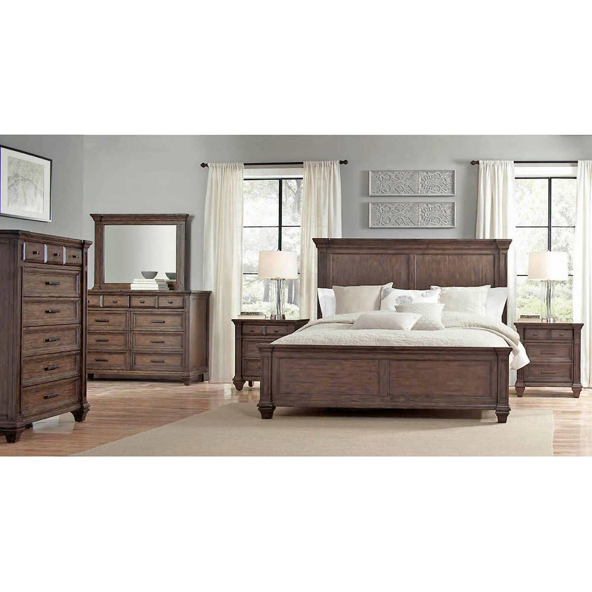 Andaluz 6 Piece King Bedroom Set