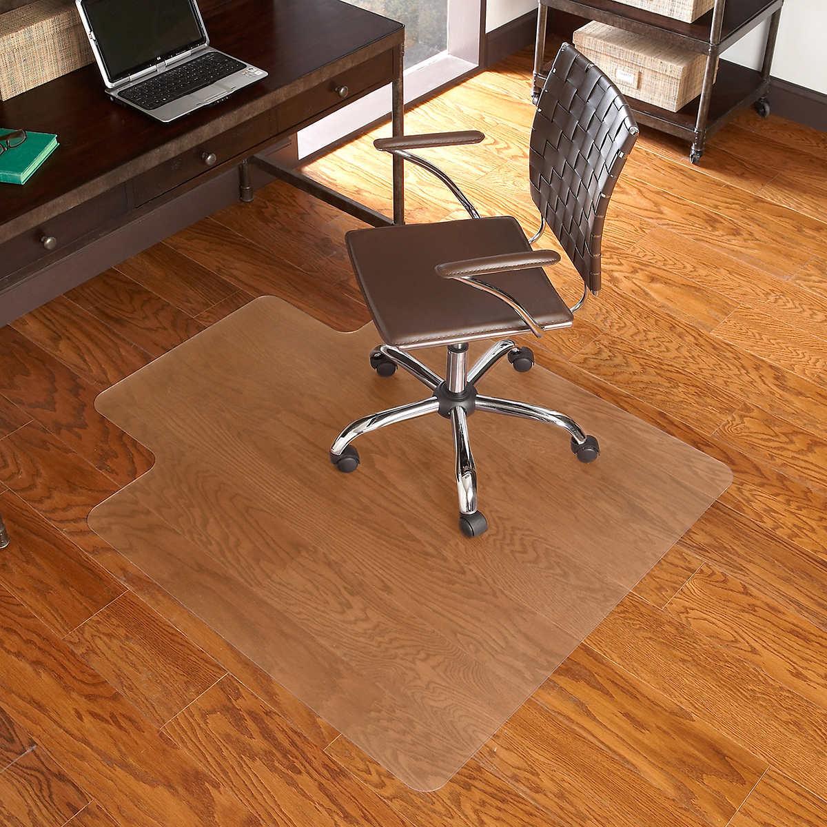 ES Robbins Chair Mat for Hard Floors 45 x 53 wLip Clear – 45 X 53 Chair Mat