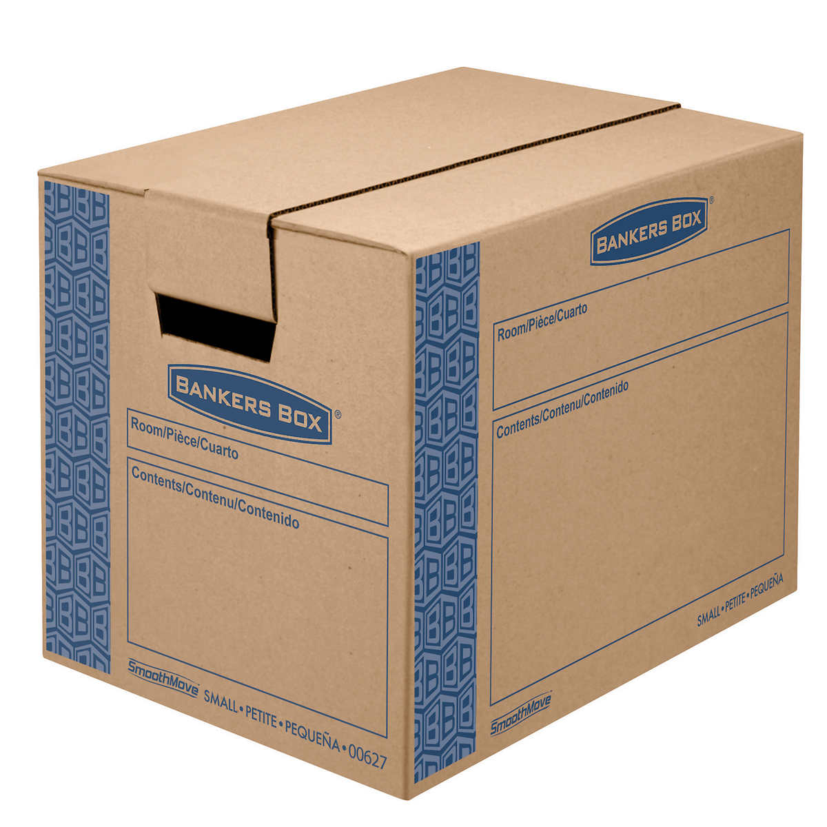 Extra large cardboard storage boxes - Bankers Box Smoothmove Moving And Storage Boxes Small 10ct