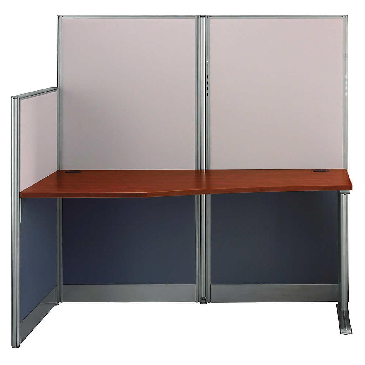 Bush Office-In-An-Hour Desk System Hansen Cherry