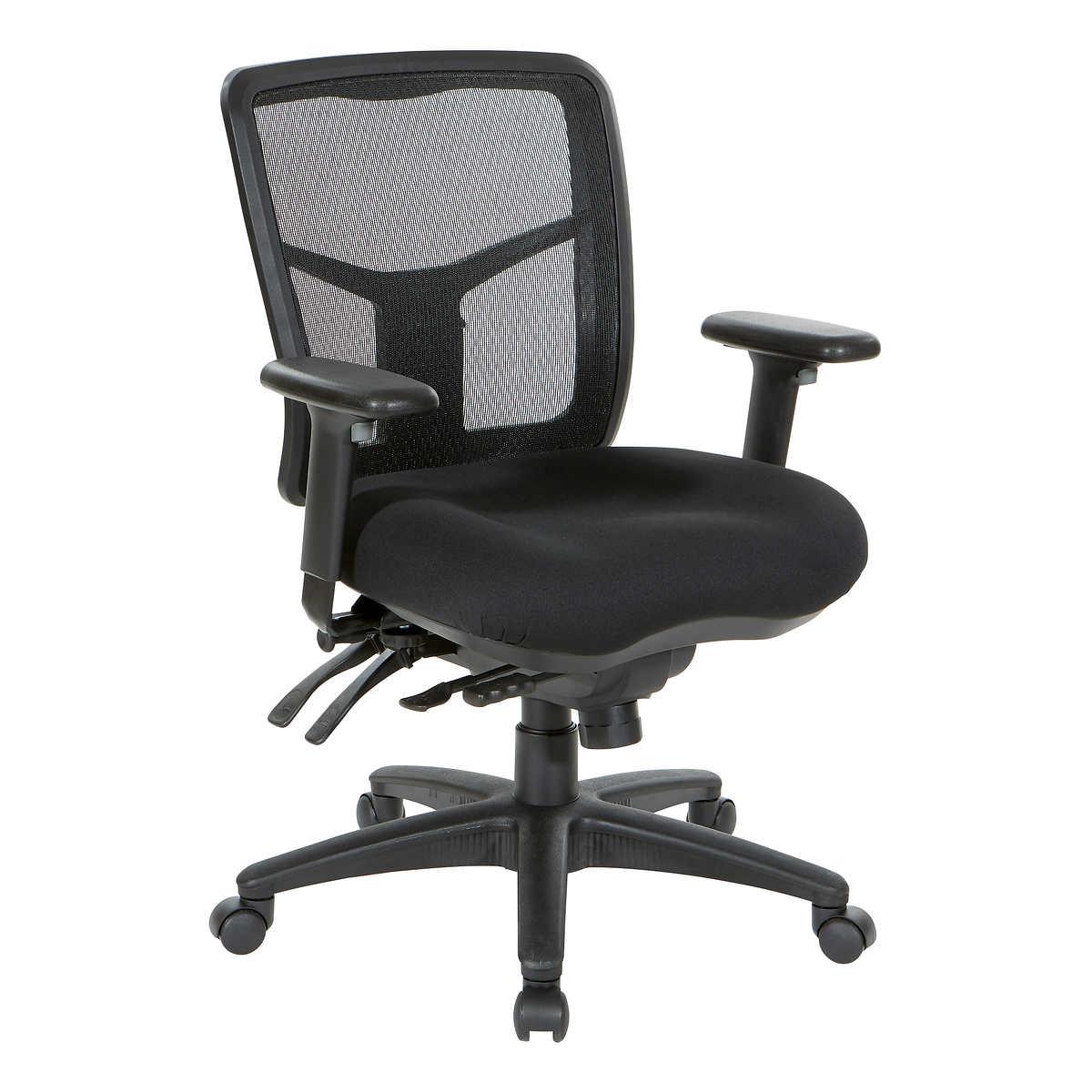 75735fdb410 Pro-Line II Deluxe Adjustable Air Grid Back Ergonomic Office Chair
