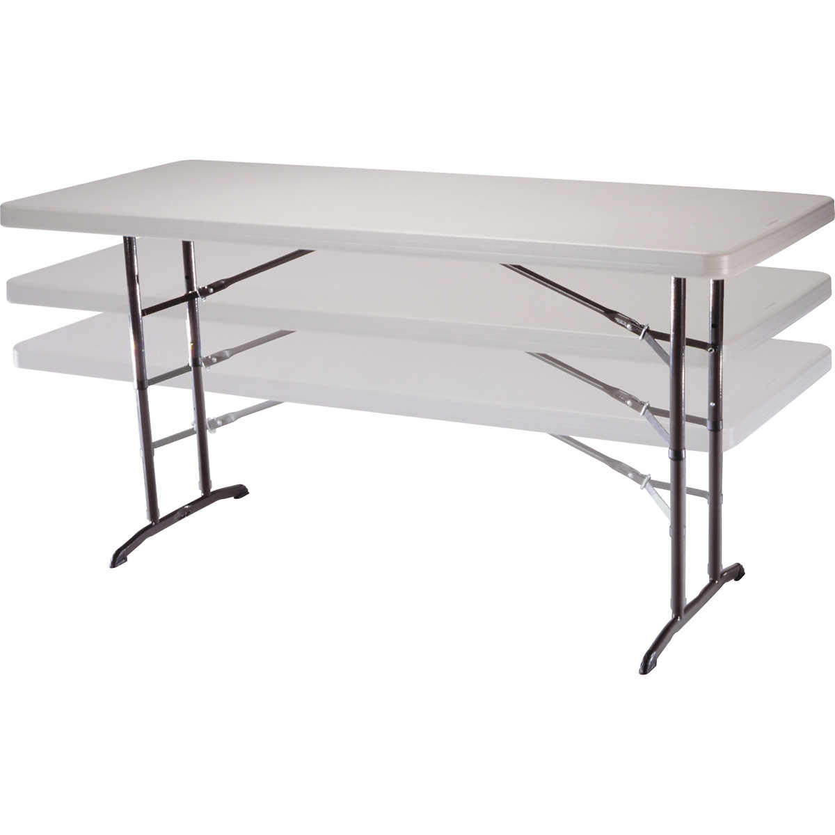 4 Foot Folding Table Costco.Lifetime 6 Adjustable Utility Table