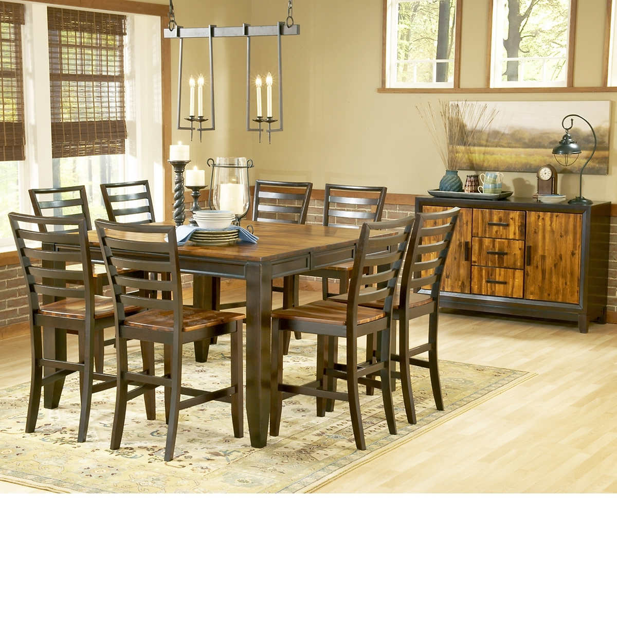 Cooper 10-piece Counter-Height Dining Set