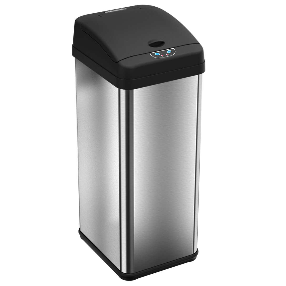 Kitchen Garbage Can Itouchless 13 Gallon Touchless Motion Stainless Steel Trash Can