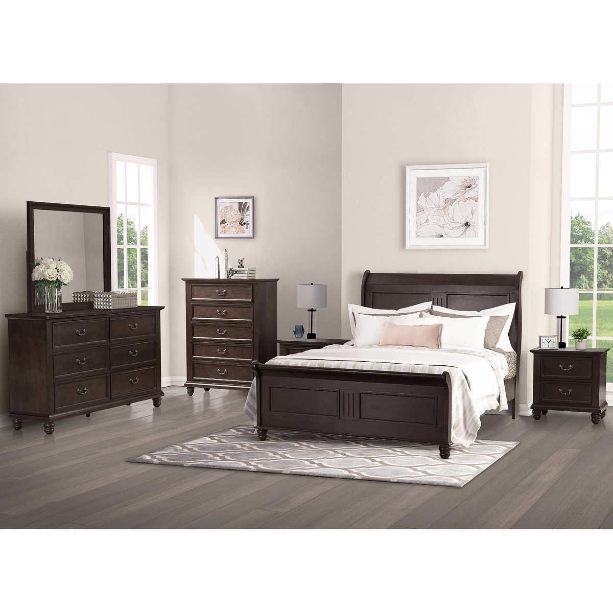 Caymen 6 piece Queen Bedroom Set  Item  568887  Click to Zoom. Caymen 6 piece Queen Bedroom Set