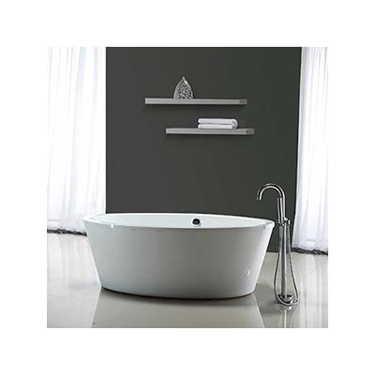 Out of Stock Ove Decors Betsy 67  Bathtub. Tubs