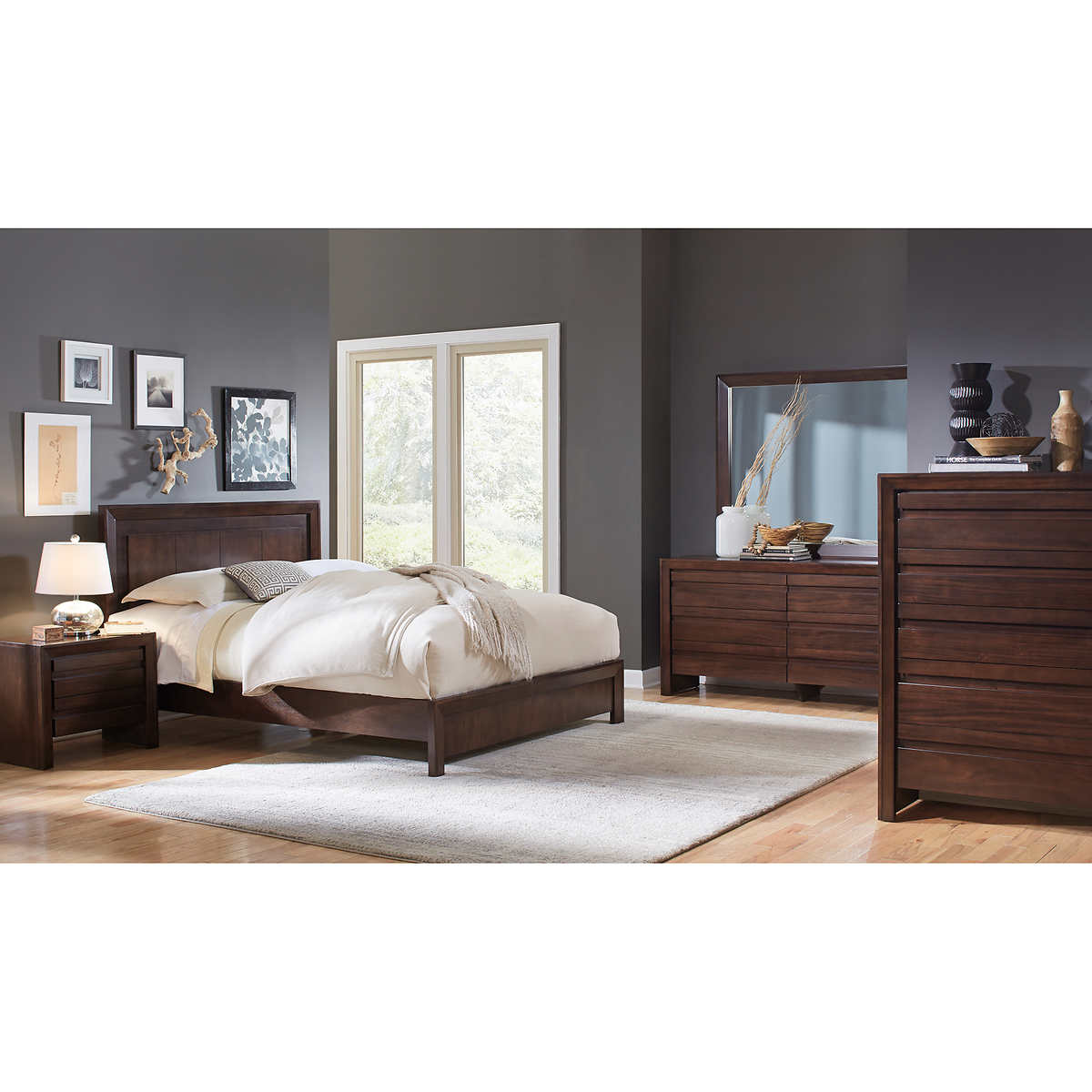 cal king bedroom sets  costco - wakefield piece cal king bedroom set