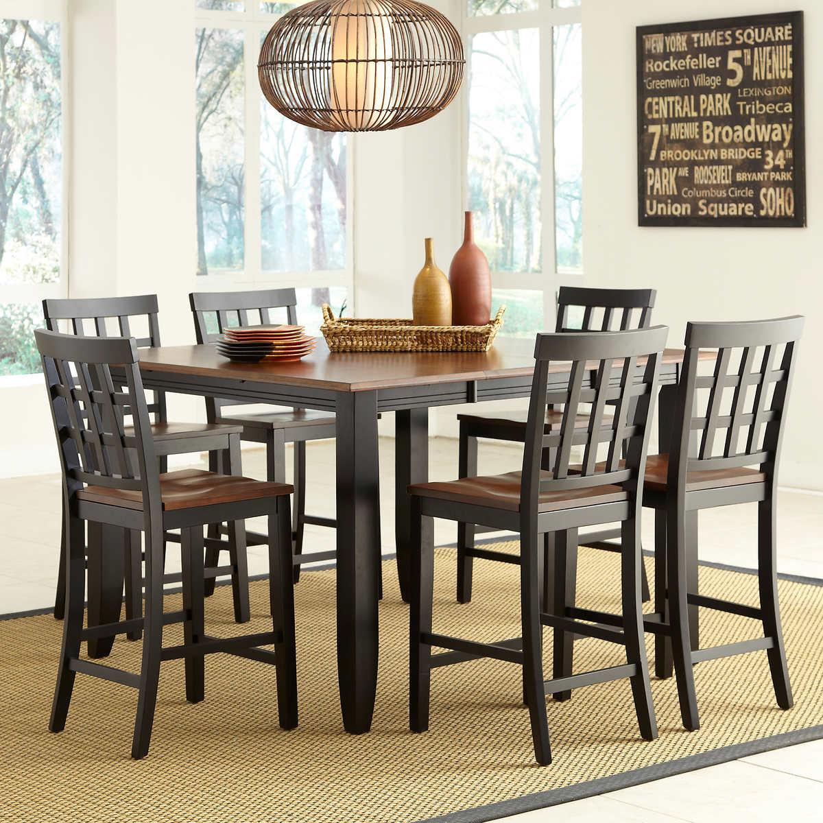 Somerset 7-piece Counter-Height Dining Set