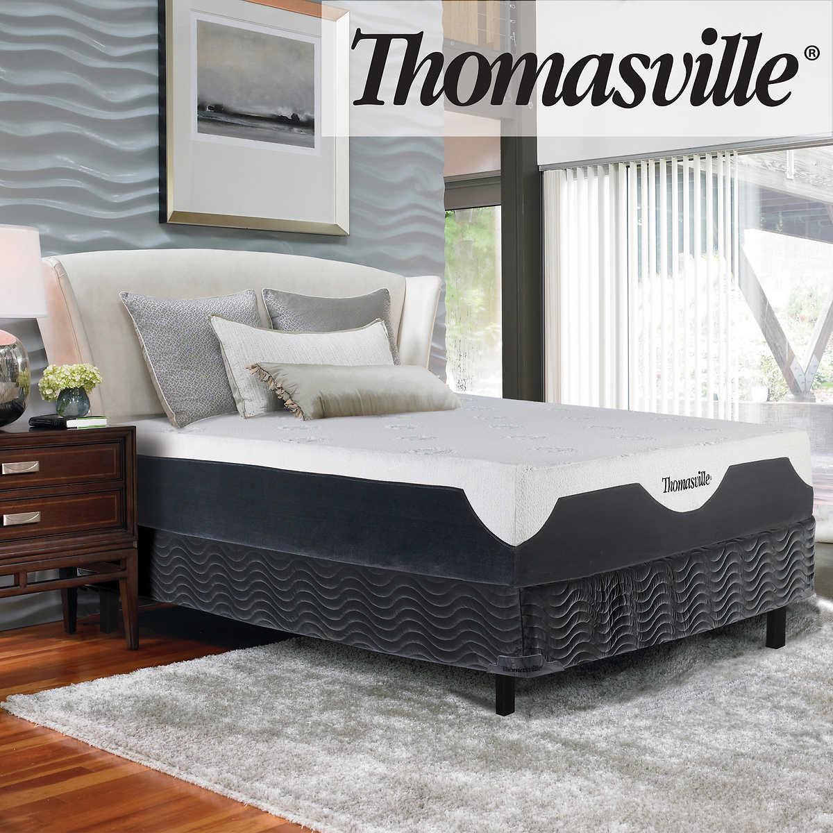 Thomasville Elite II Latex Hybrid Medium-firm Queen Mattress Set