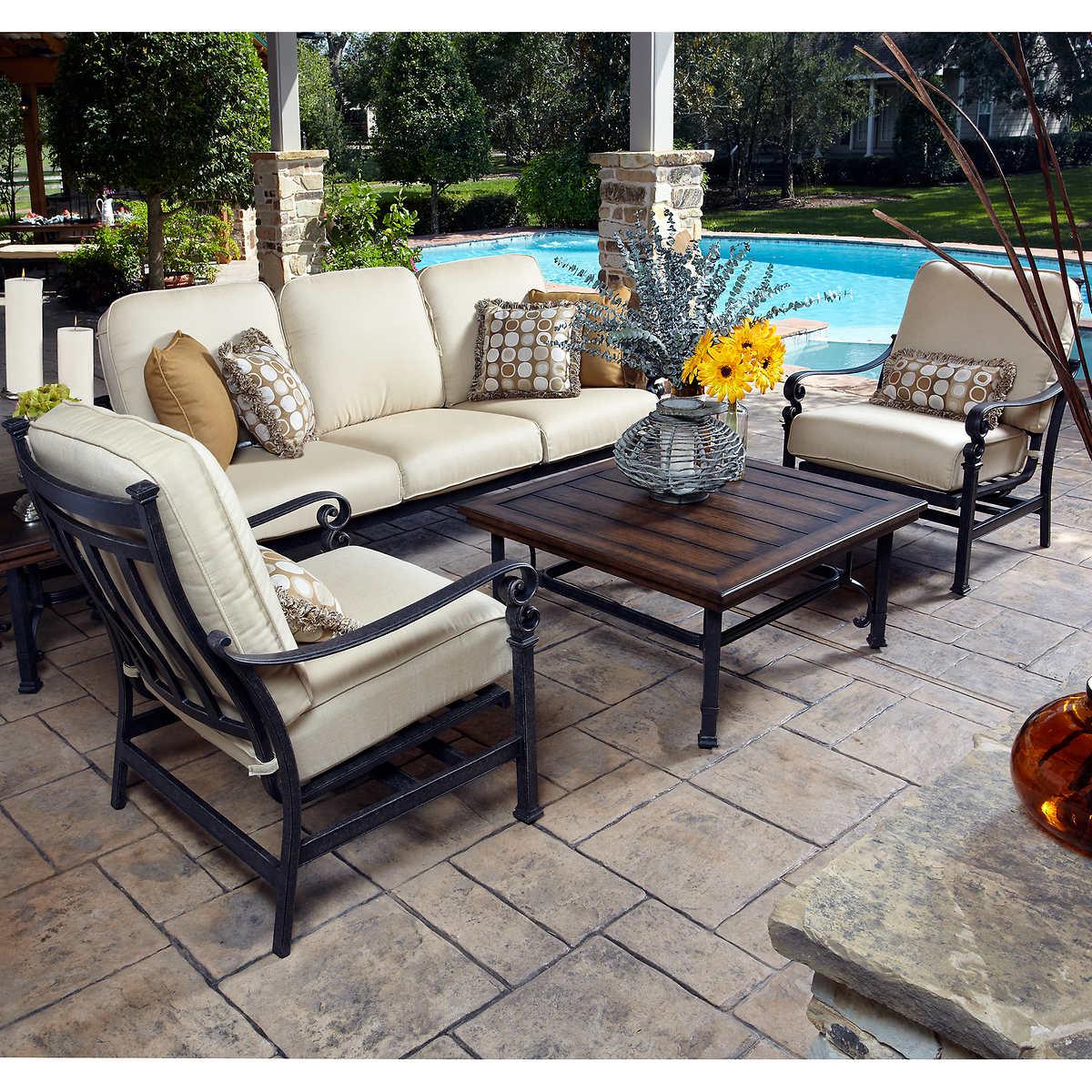 Meridian 5-piece Seating Set - Top Selling Patio