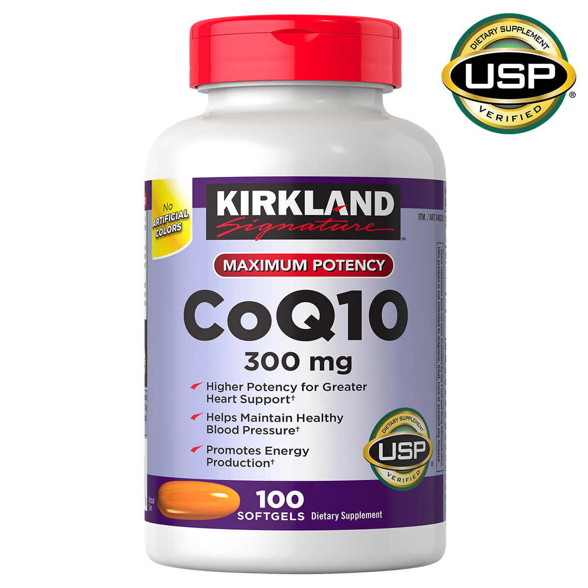 . Kirkland Signature CoQ10 300 mg   100 Softgels