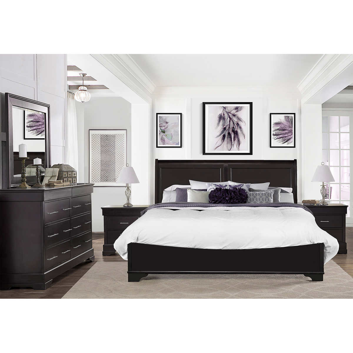 Caprice 5 Piece Queen Bedroom Set Item 654330 Click To Zoom