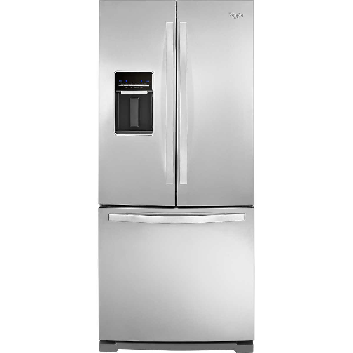 Whirlpool white ice costco canada - Whirlpool 19 7cuft French Door Refrigerator Stainless Steel 30 Wide With Exterior Water Dispenser