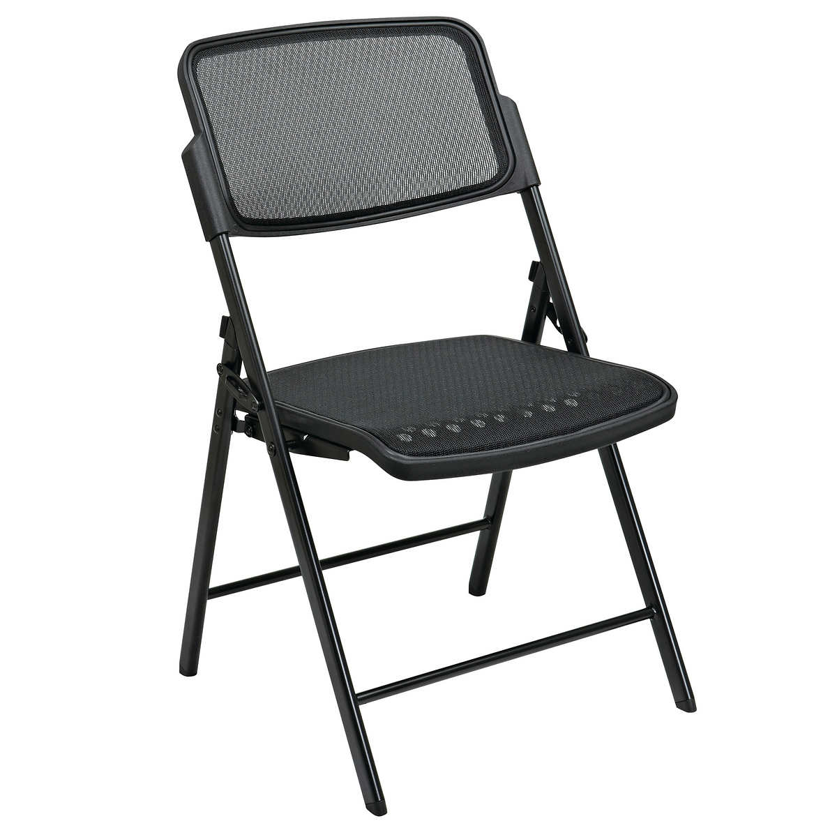 Black folding chairs - 48 Pack Pro Line Progrid Seat And Back Folding Chair