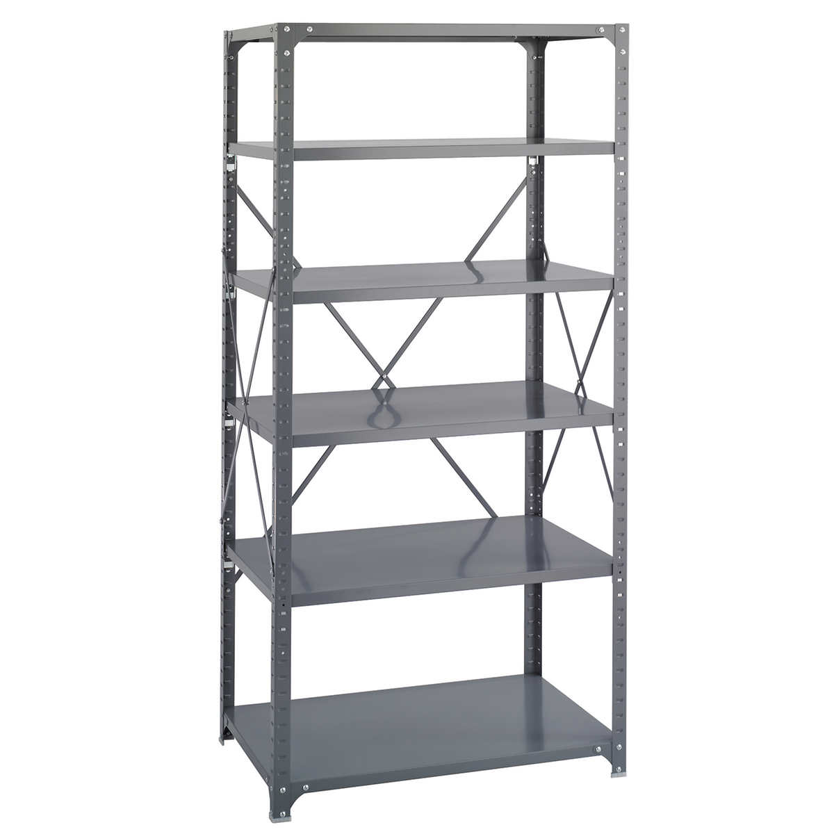 Safco 6-shelf Shelving Rack, 36