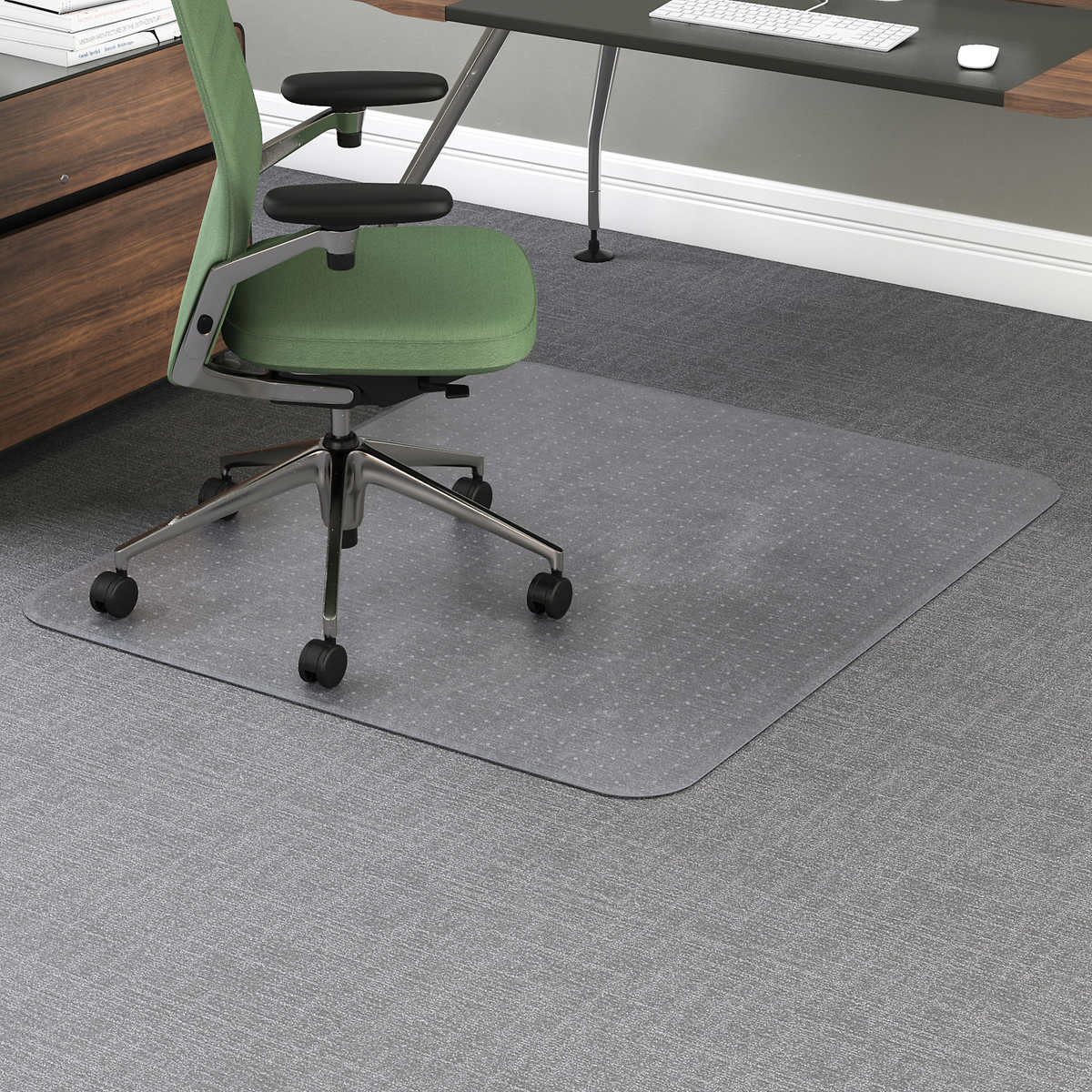 Office chair mat for carpet - Office Impressions Chair Mat For Carpet 46 X 60 Clear