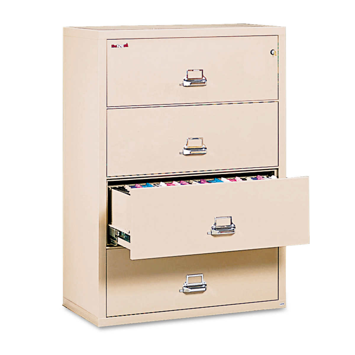 FireKing 4-Drawer Lateral Insulated File 37-27/64
