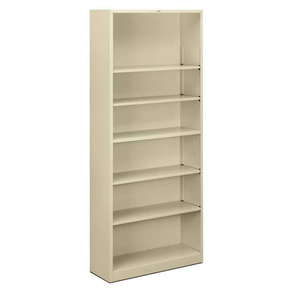 Hon Brigade 6 Shelf Bookcase 34 1 2 W Putty