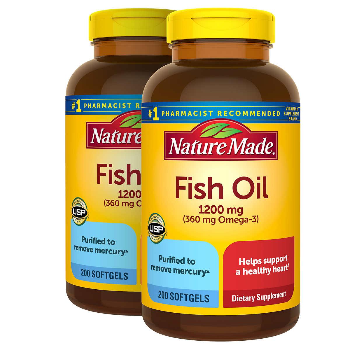 Replica omega 3 fish oil 408inc blog for Nature made fish oil costco