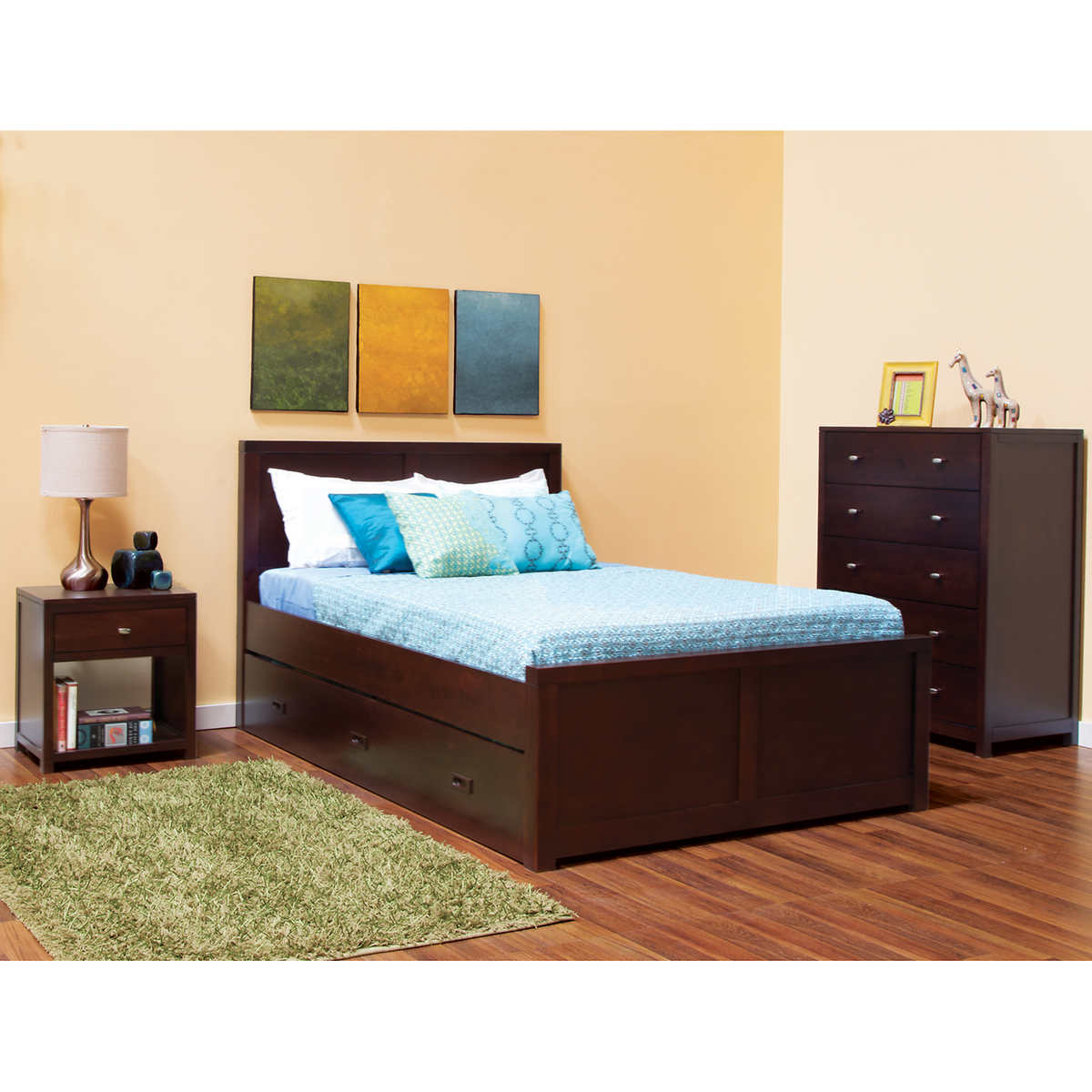 Peyton 3 Piece Full Bed Set