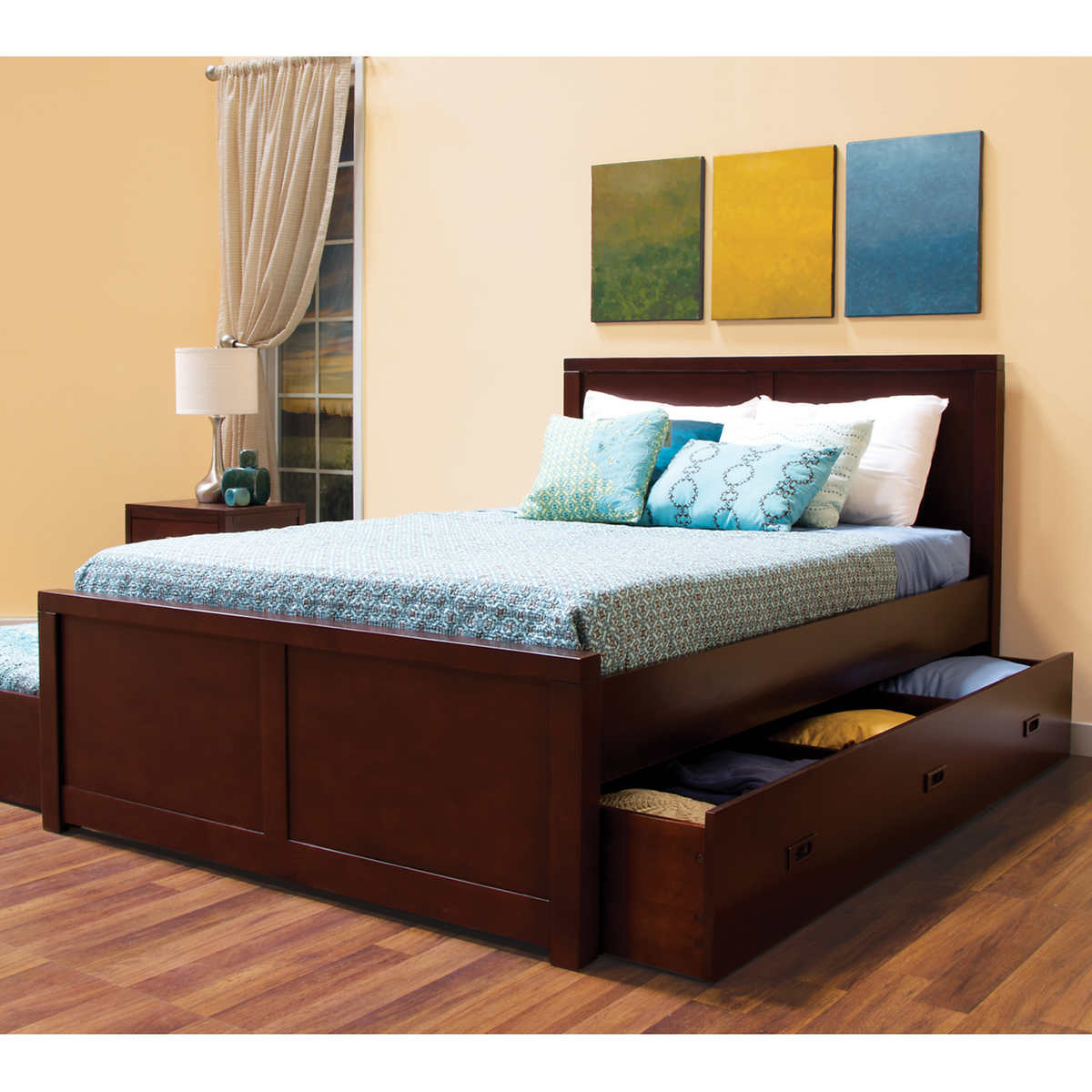 Full Bed Size.Peyton Full Bed With Trundle And Storage