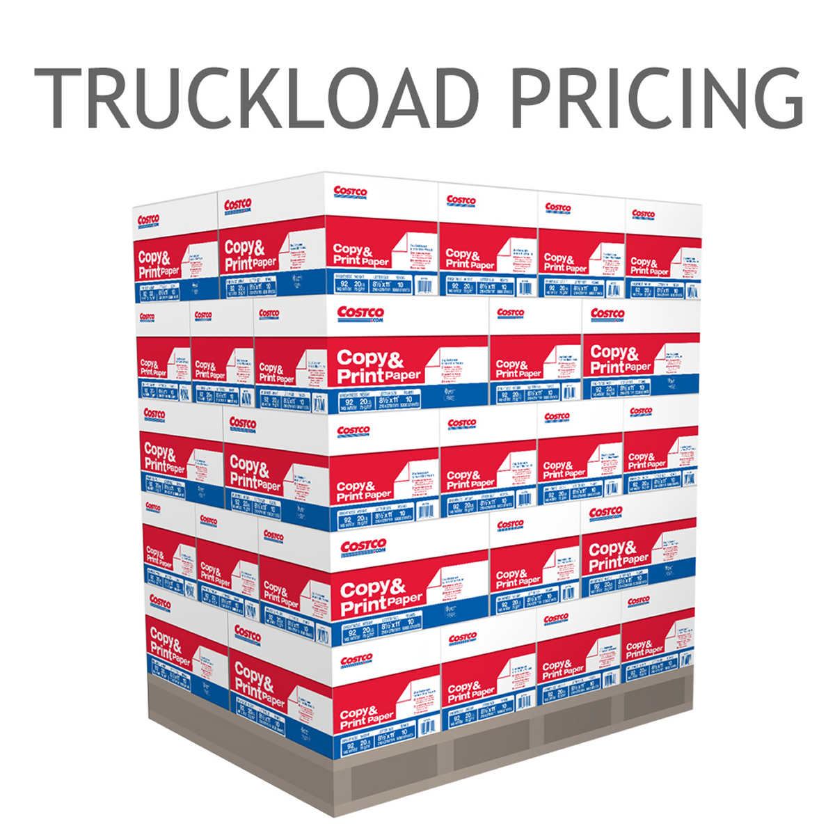 copy multipurpose paper copy paper letter 92 bright 840 case truckload pricing