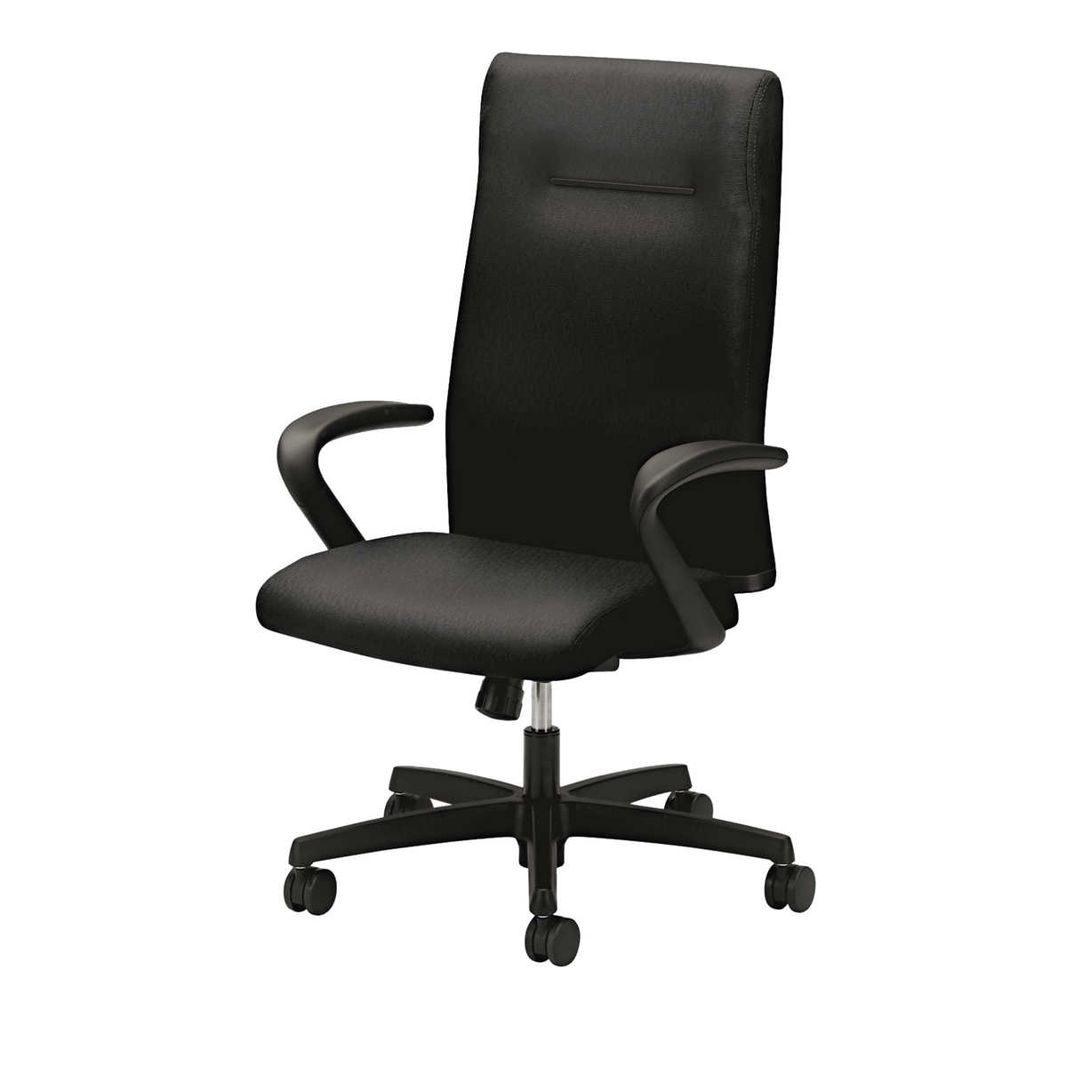 High back fabric office chair - Hon Ignition Series Black Fabric Executive High Back Chair