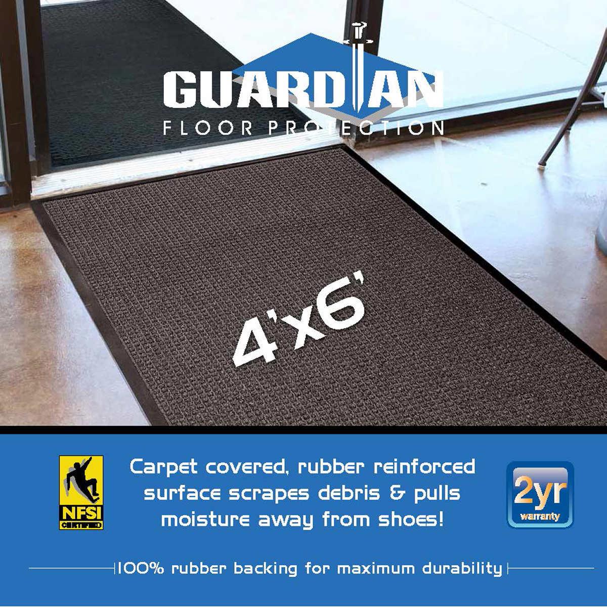 Weathertech mats costco - Guardian Waterguard Wiper Scraper Mat 48 X 72 Charcoal