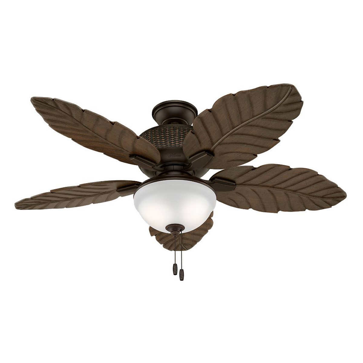 Hunter newcastle 52 3 light ceiling fan with remote member only item mozeypictures Gallery
