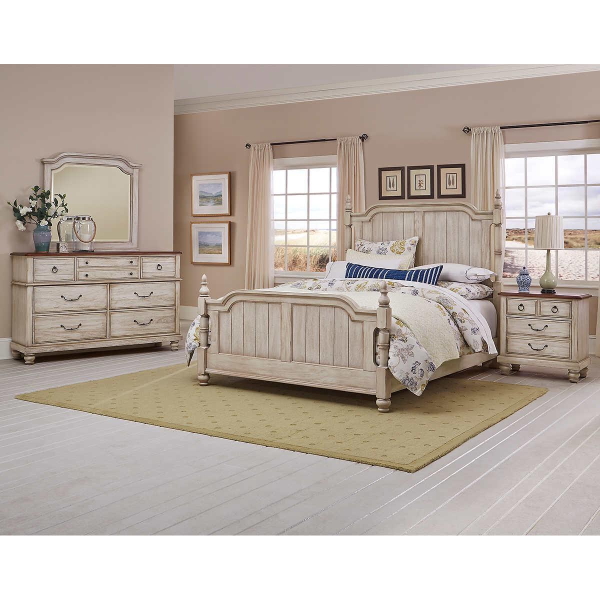 queen bedroom sets  costco - magnolia piece queen bedroom set