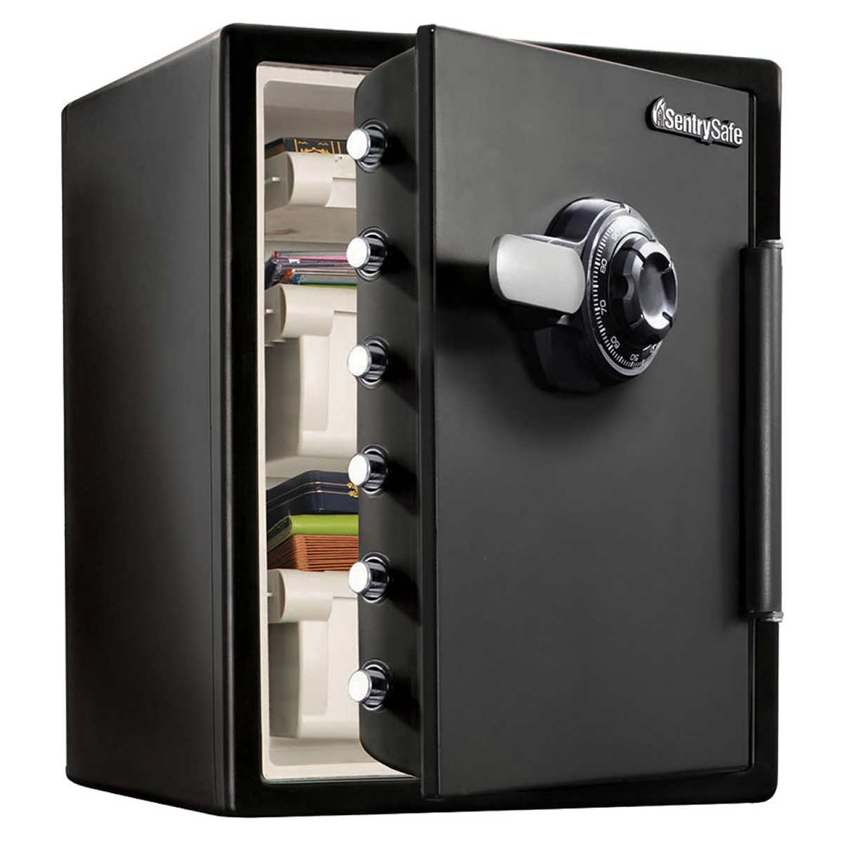 Sentrysafe 2 05 Cuft Fireproof Safe And Waterproof With Dial Combination