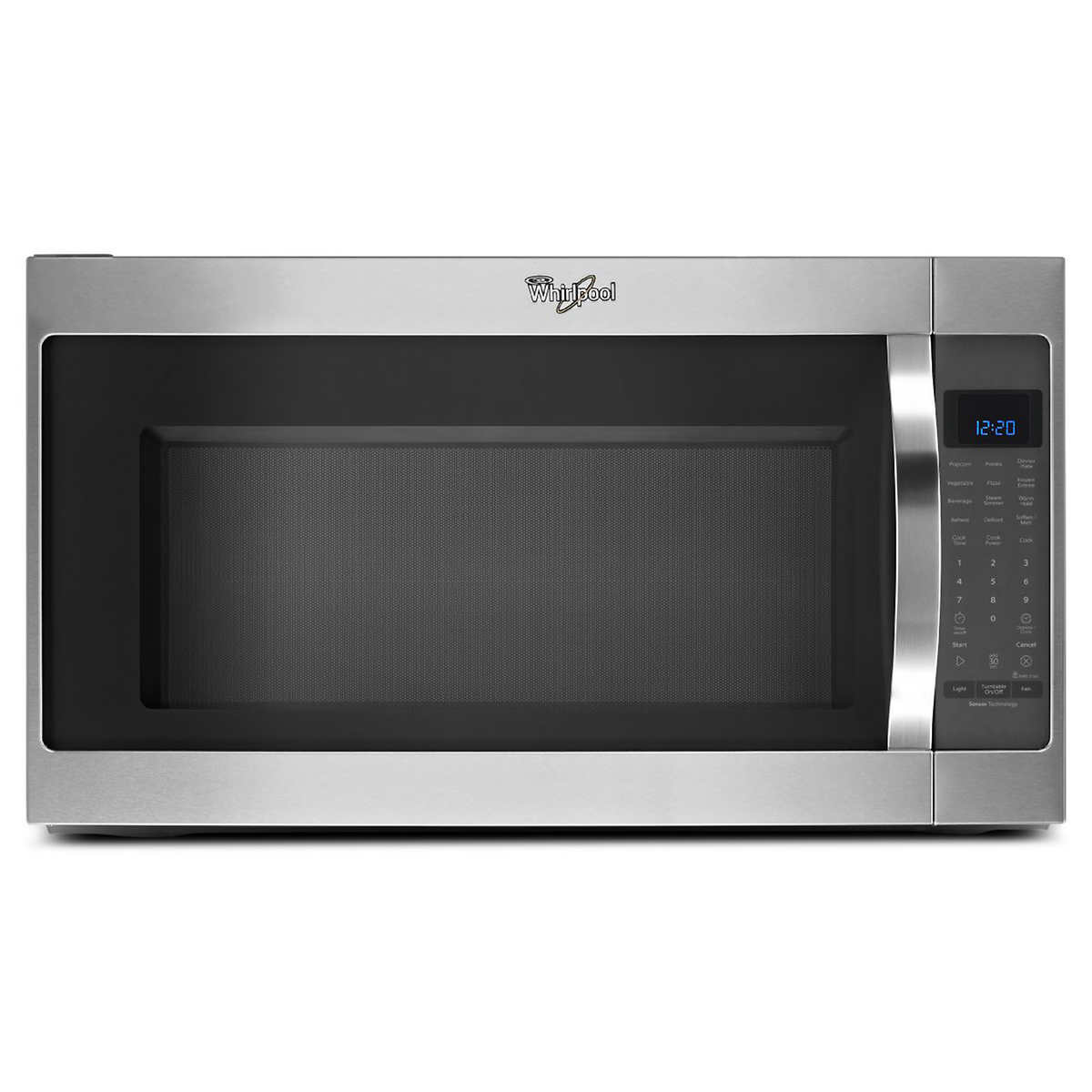 Whirlpool white ice countertop microwave - Whirlpool 2 0cuft Stainless Steel Over The Range Microwave With Cleanrelease Non Stick