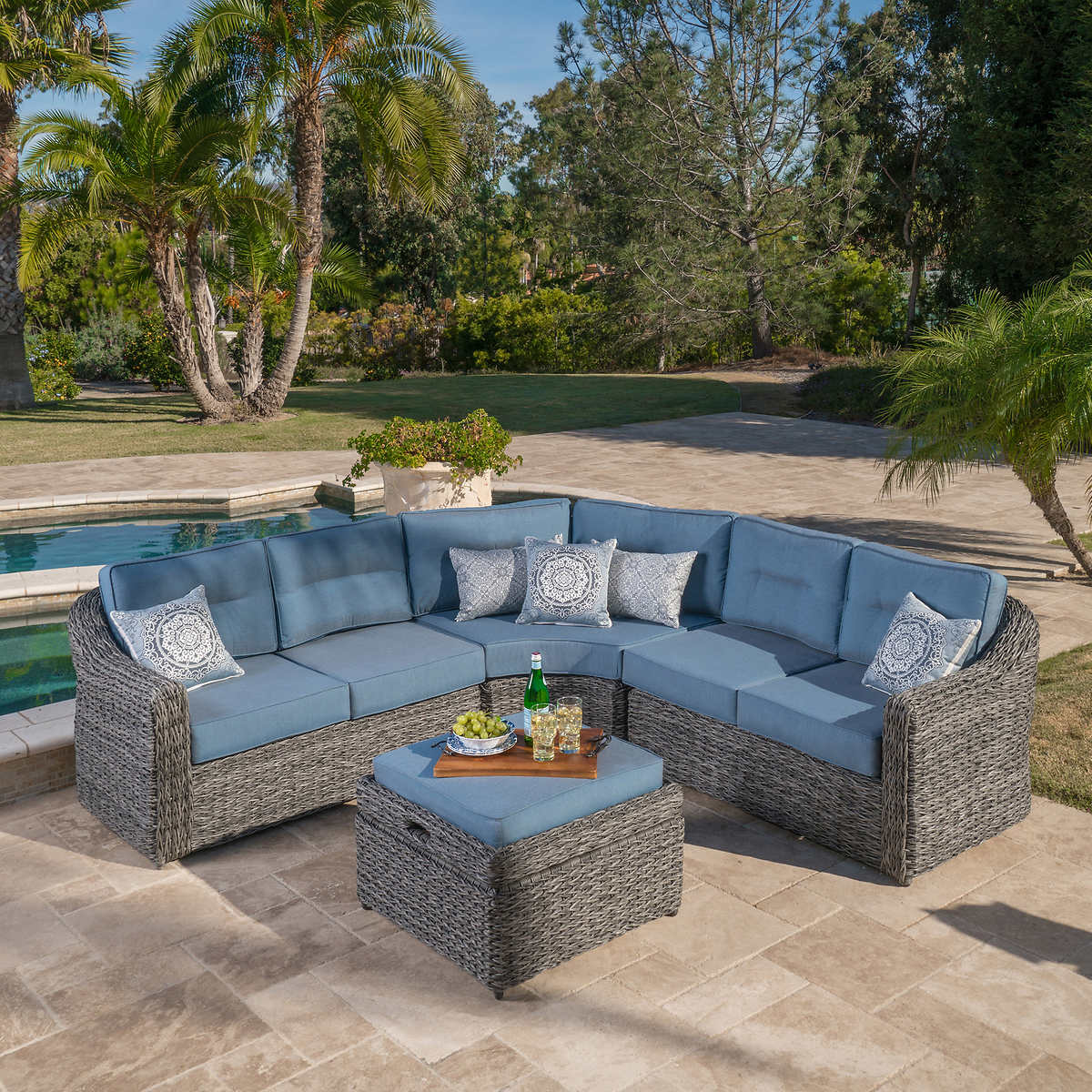 Garden Ridge 4-piece Modular Seating Set by Mission Hills - Seating Sets Costco