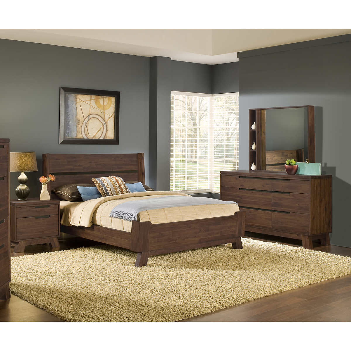 Woodrow Road 5-piece King Bedroom Set