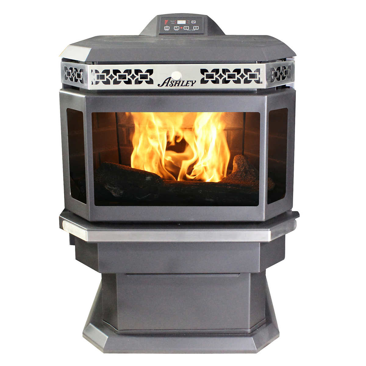 Fireplaces stoves accessories costco us stove ap5660 ashley bay front pellet stove eventelaan Choice Image