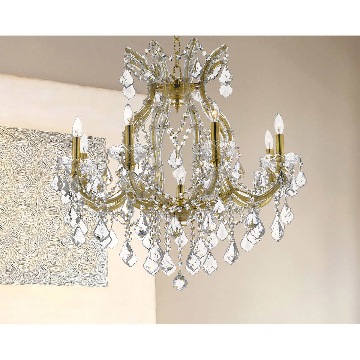 Lighting by pecaso maria theresa chandelier 26l x 26w 25 lbs lighting by pecaso maria theresa chandelier 26l x 26w 25 lbs number of lights 9 arubaitofo Choice Image