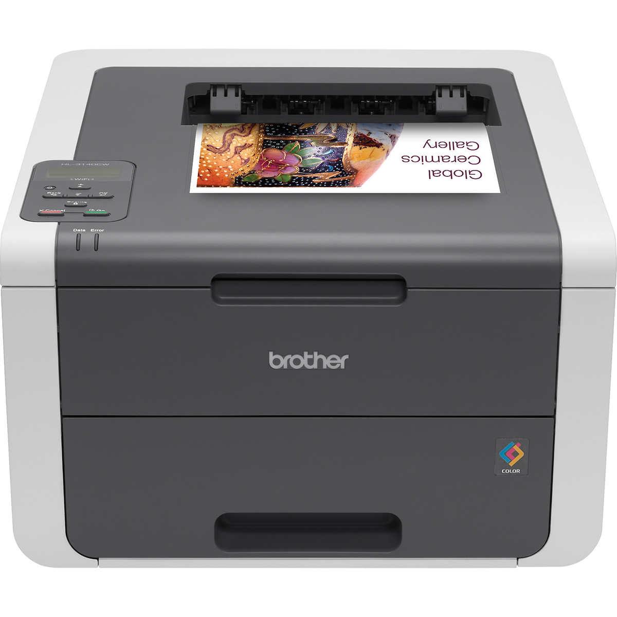 Color printing inkjet vs laser - Brother Hl 3140cw Digital Color Printer