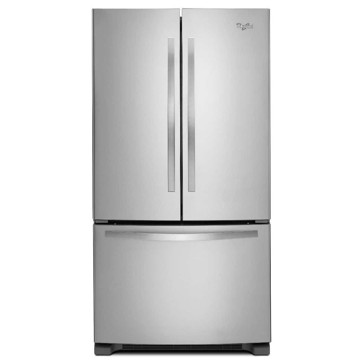 Whirlpool white ice costco - Out Of Stock Whirlpool 25cuft 36 Inch Wide 3 Door French Door Refrigerator In Stainless Steel