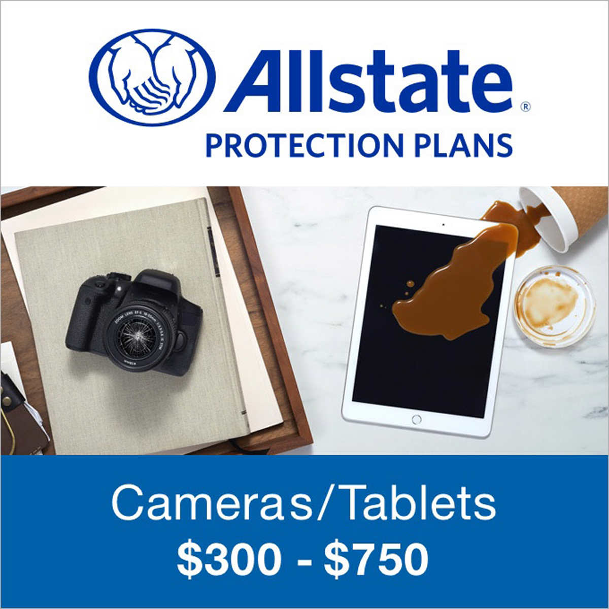 SquareTrade 2 Years (For Tablets and Cameras: $300 - $750)