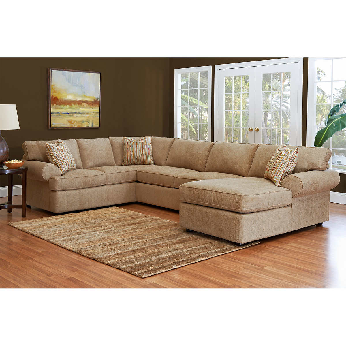Modular sectional sofa costco farmersagentartruizcom for Hayden 8 piece sectional sofa